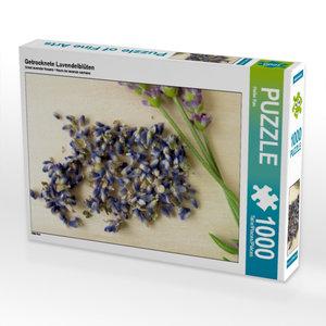 Getrocknete Lavendelblüten 1000 Teile Puzzle quer