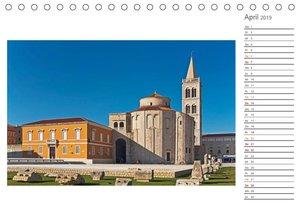 Kroatien, Terminplaner (Tischkalender 2019 DIN A5 quer)