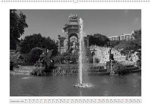 Barcelona Photografien in Schwarz / Weiß