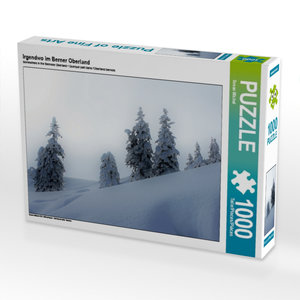 Irgendwo im Berner Oberland 1000 Teile Puzzle quer