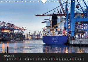 Hamburger Hafen (Wandkalender 2019 DIN A4 quer)