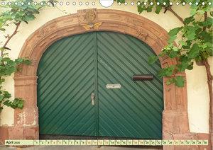 Kunstvolle Tore alter Weingüter (Wandkalender 2020 DIN A4 quer)