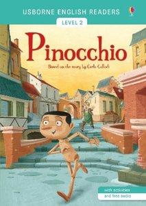 Usborne English Readers Level 2: Pinocchio