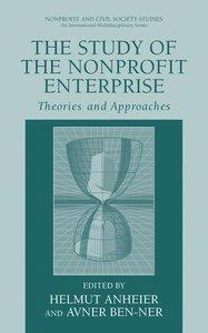 The Study of Nonprofit Enterprise