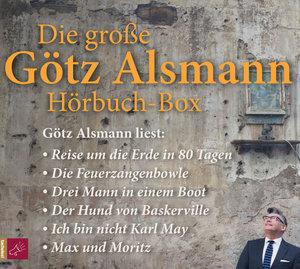 Die Große Götz Alsmann Hörbuch-Box (18CDs)