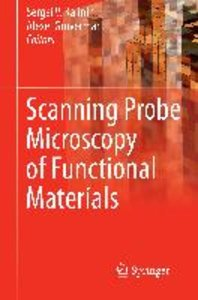 Scanning Probe Microscopy of Functional Materials
