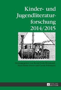 Kinder- und Jugendliteraturforschung. 2014/2015