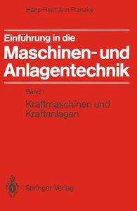 Einführung in die Maschinen- und Anlagentechnik