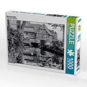 Ecksteinmühle 1000 Teile Puzzle quer