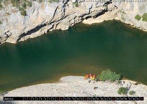 Ardèche, Grand Canyon Europas (Wandkalender 2019 DIN A2 quer)