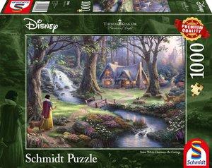 Schmidt 59485 - Disney Schneewittchen, Thomas Kinkade, 1000 Teil