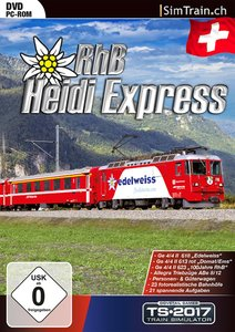 Train Simulator 2016 - Heidi Express RhB (Addon)