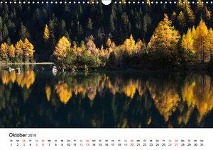 BERGSEEN Schweizer Alpen (Wandkalender 2019 DIN A3 quer)