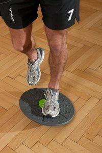 Schildkröt Fitness 960031 - Balanceboard, anthrazit-limegreen