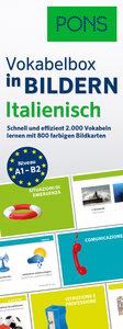 PONS Vokabelbox in Bildern Italienisch