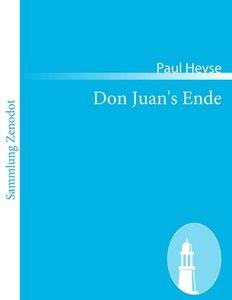 Don Juan's Ende