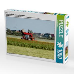 Ein Motiv aus dem Kalender Landmaschinen zum Anfassen nah 1000 T