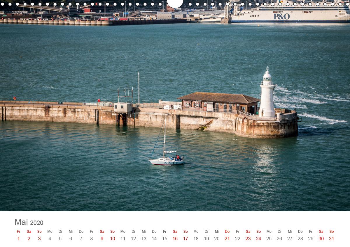 Dover - Hafenstadt am Ärmelkanal - zum Schließen ins Bild klicken