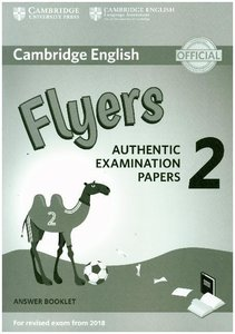 Cambridge English Young Learners Test Flyers 2. Answer booklet