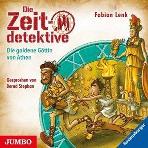 Die Zeitdetektive - Die goldene Göttin von Athen, 1 Audio-CD