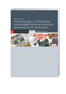 Untersuchungen zur Wirtschafts- und Sozialgeschichte der deutsch
