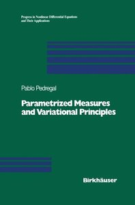 Parametrized Measures and Variational Principles