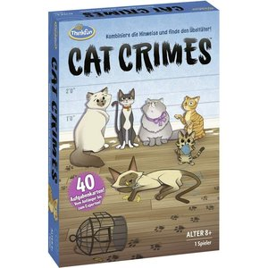 Cat Crimes(TM) ThinkFun