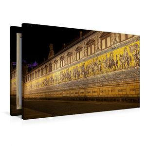 Premium Textil-Leinwand 90 cm x 60 cm quer Der Fürstenzug auf de