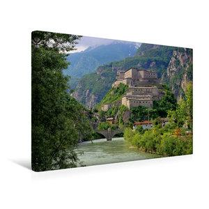 Premium Textil-Leinwand 45 cm x 30 cm quer Forte di Bard