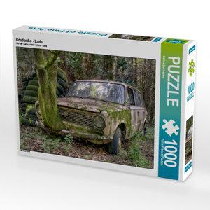 Rostlaube - Lada 1000 Teile Puzzle quer