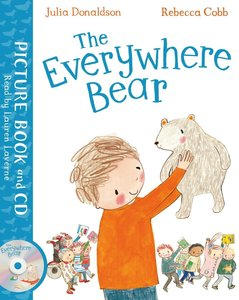 The Everywhere Bear, w. Audio-CD