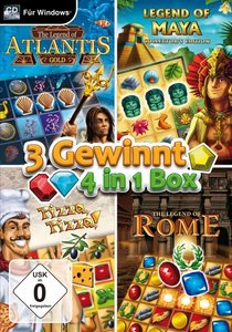 3 Gewinnt - 4in1 Box. Für Windows Vista/7/8/8.1/10