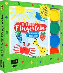 Alle meine Fingerlein: Malen mit Fingerfarben - Das Fingerfarben