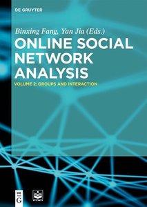 Online Social Network Analysis Vol 2