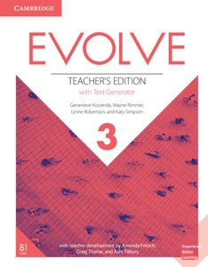 Evolve 3 (B1). Teacher\'s Edition with Test Generator