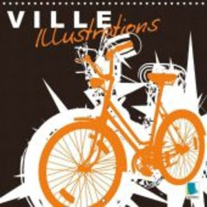 Ville - Illustrations (Calendrier mural 2015 300 × 300 mm Square