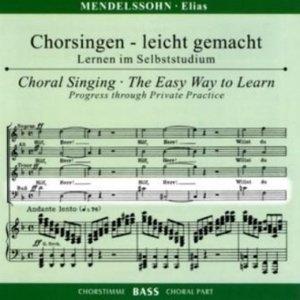 Elias op.70, Chorstimme Bass, 2 Audio-CDs