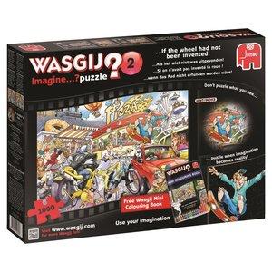 Jumbo 19132 Wasgij Imagine 2: ...wenn das Rad nicht erfunden wor
