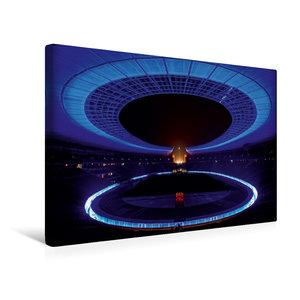 Premium Textil-Leinwand 45 cm x 30 cm quer Olympiastadion