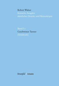 Geschwister Tanner (Erstdruck), mit CD-ROM