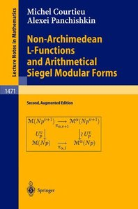 Non-Archimedean L-Functions and Arithmetical Siegel Modular Form