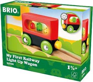 BRIO 33708000 Mein erster Waggon mit Licht