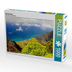 Na Pali Coast 1000 Teile Puzzle quer