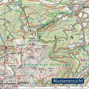 Baldeneysee, Elfringhauser Schweiz, Wuppertal 1:25 000