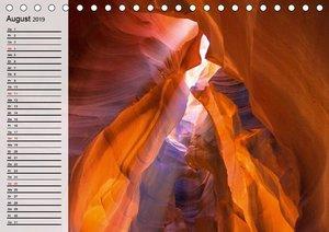 Naturlandschaften der USA. Der sagenhafte Südwesten (Tischkalend