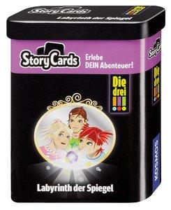 Die drei !!! Storycards - Labyrinth der Spiegel