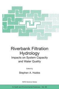 Riverbank Filtration Hydrology