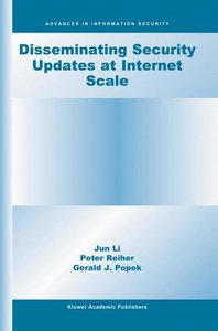 Disseminating Security Updates at Internet Scale