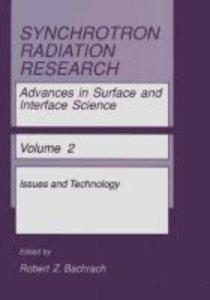 Synchrotron Radiation Research