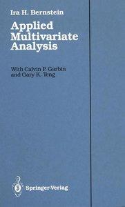 Applied Multivariate Analysis